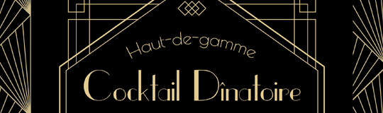 cocktail dinatoire PARC